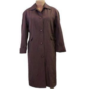 Fen-nelli long trench coat size 11/12 extra Large